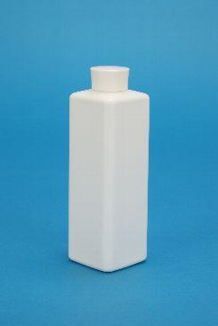 プラスチック容器:MBK-500角(白)/P-27Wキャップ小・ガス抜きP付