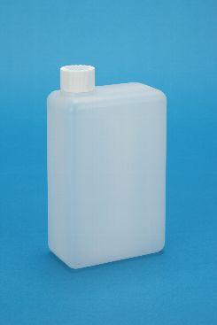 プラスチック容器:1L角缶 ガス抜き・CAP付