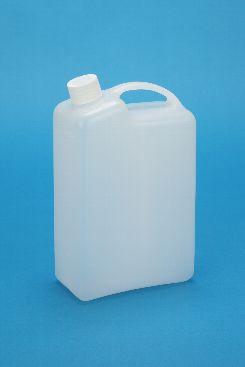 プラスチック容器:2L手付缶N ガス抜き・CAP付