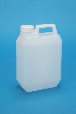 プラスチック容器:新2L手付缶N 中栓・CAP付