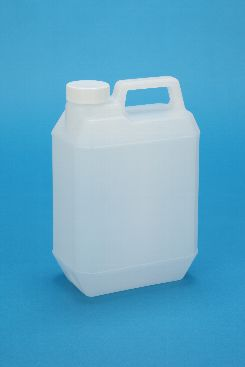プラスチック容器:新2L手付缶N ガス抜き・CAP付
