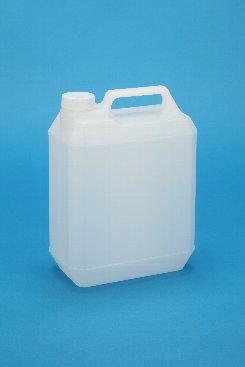 プラスチック容器:新4L手付缶N 中栓・CAP付