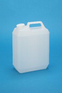 プラスチック容器:4L手付缶N 中栓・CAP付