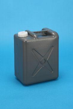 プラスチック容器:5L偏平缶G 中栓・CAP付