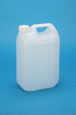 プラスチック容器:5LMSタイプ無地CAP・P付