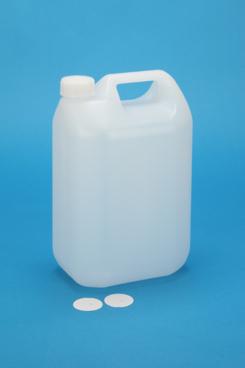 プラスチック容器:5L MS缶 CAP・ガス抜きP付