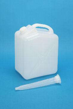 プラスチック容器:10Lノズル付 エア栓付 白