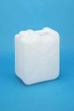 プラスチック容器:10L偏平缶N 中栓・CAP付