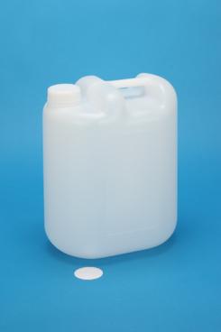 プラスチック容器:10L丸缶無地 CAP・ガス抜きP付