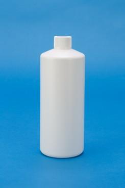 プラスチック容器:1L丸(乳白) ガス抜き仕様