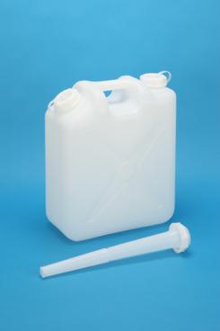 プラスチック容器:新20L ノズルなし 白