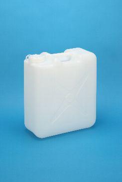 プラスチック容器:20L偏平缶N 中栓・CAP付