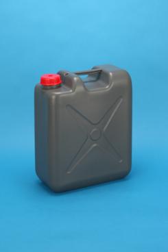 プラスチック容器:SF20L偏平缶G (ガス抜きCAP付)