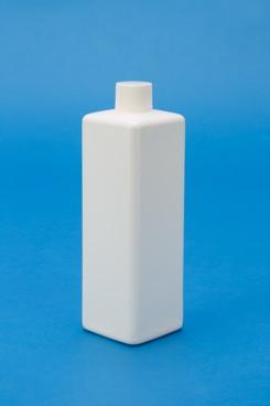 プラスチック容器:MBK-500角(乳白) ガス抜き仕様