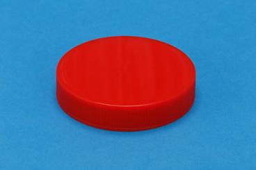プラスチック容器:2寸8分キャップ(赤)