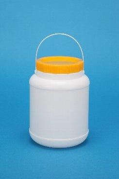 プラスチック容器:2Lボンド中栓 白・CAP・紐付
