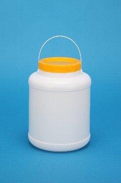 プラスチック容器:3Lボンド中栓 白・CAP・紐付