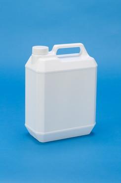 プラスチック容器:新4L手付缶(乳白)